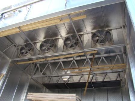 Монтаж сушильных камер древесины