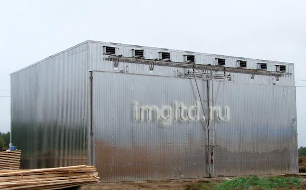 сушильные камеры для древесины в Архангельской области