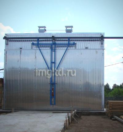 камеры для сушки древесины, В Новгороде, собсвенного производства