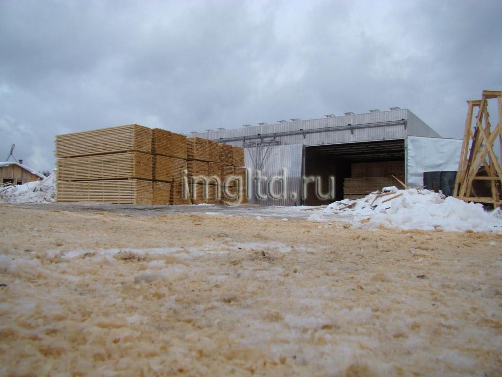 камеры для сушки древесины, пиломатериала, в Няндоме, в Архангельской области