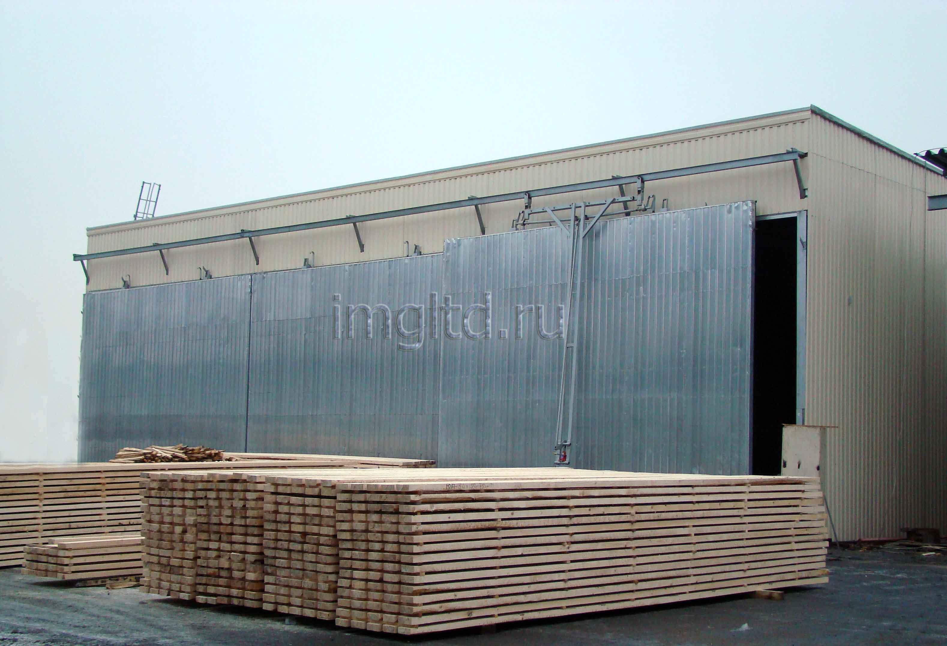 сушильные камеры, для древесины, пиломатериала, собственного производства, в Санкт-Петербурге