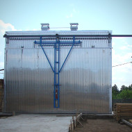 сушильная камера 30 кубовв Новгородской области, сушка пиломатериала