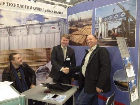 Компания IMG на выставке Woodex-2013