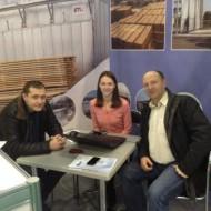 IMG на выставке Woodex-2013