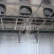 вентиляторы, система вентиляции сушильной камеры, обечайки для сушильных камер