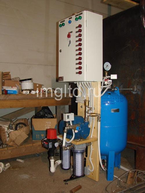насосная станция для сушильных камеры древесины